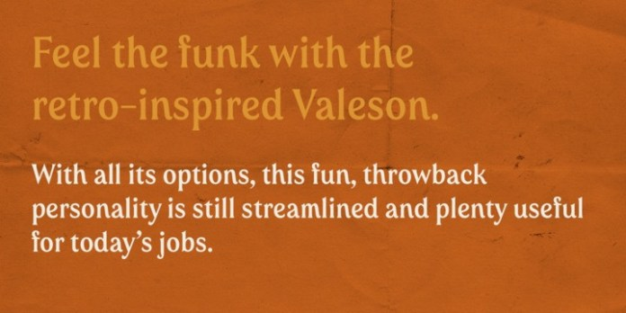 Valeson Font