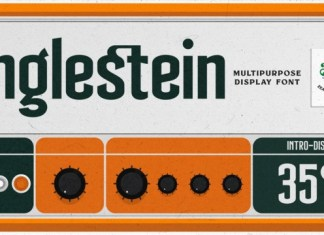 Anglestein Font