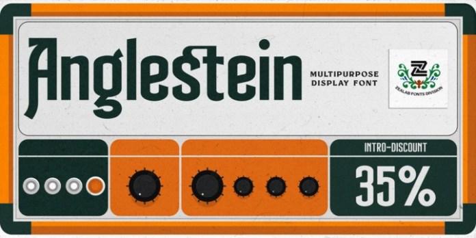 Anglestein Font