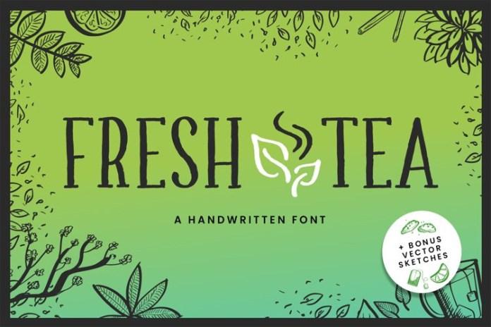 Fresh Tea Font