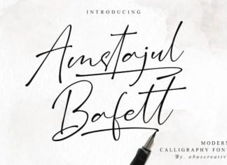 Amstajul Bafett Font