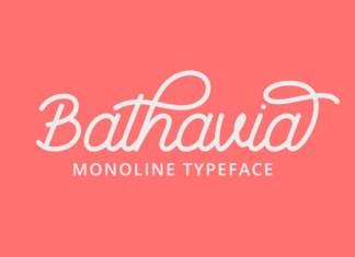 Bathavia Font