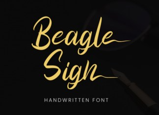 Beagle Sign Font