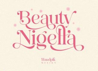 Beauty Nigella Font