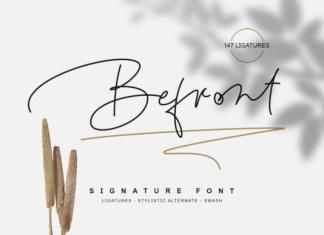 Befront Font