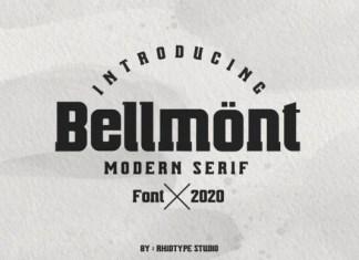 Bellmont Font