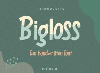 Bigloss Font