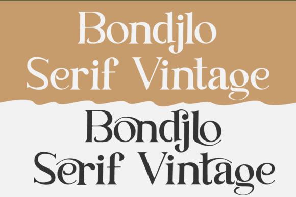 Bondjlo Font