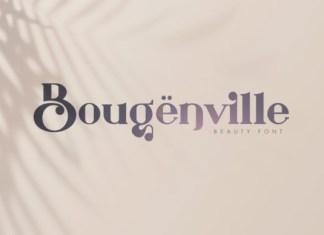 Bougenville Font