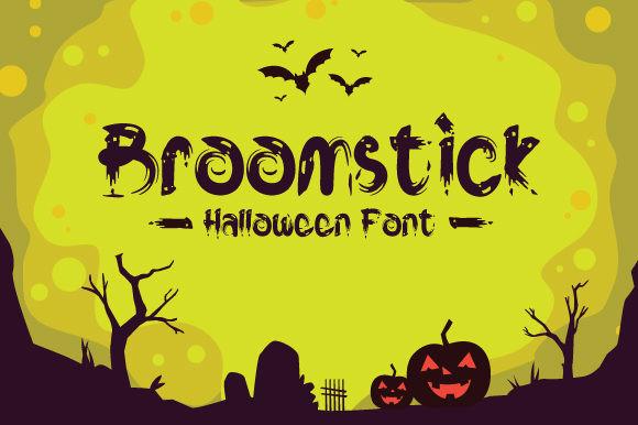 Broomstick Font