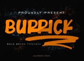 Burrick Font