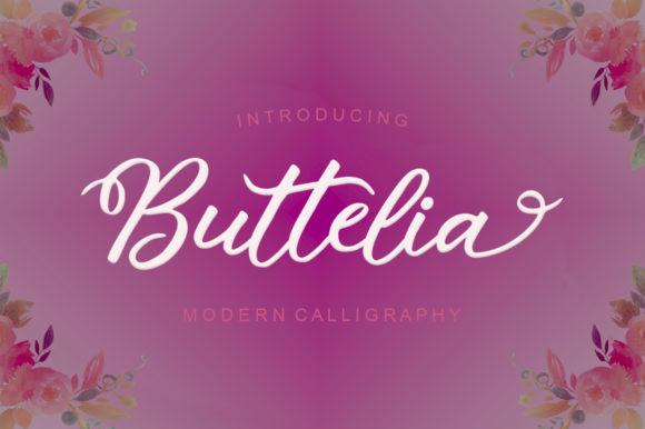 Buttelia Font