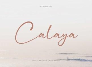 Calaya Font