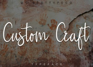 Custom Craft Font