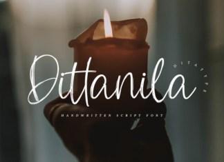 Dittanila Font