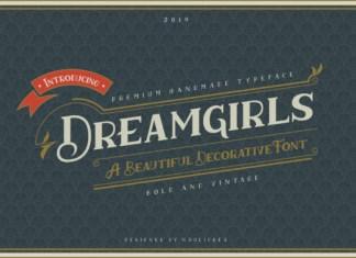 Dreamgirls Font
