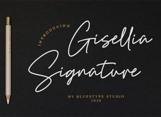 Gisellia Signature Font