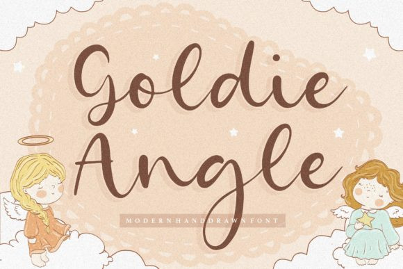 Goldie Angle Font
