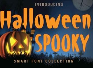Haloween Spooky Font