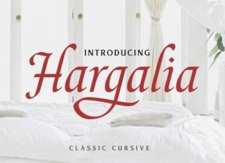 Hargalia Font