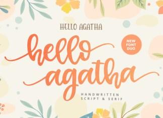 Hello Agatha Font