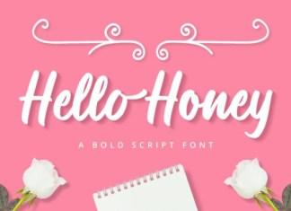 Hello Honey Font