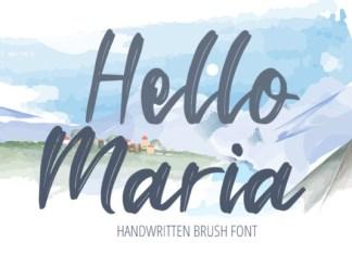 Hello Maria Font