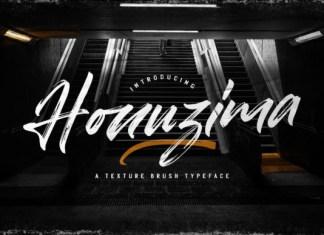 Honuzima Font