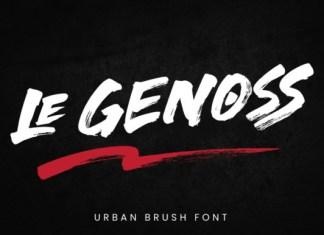 Le Genoss Font