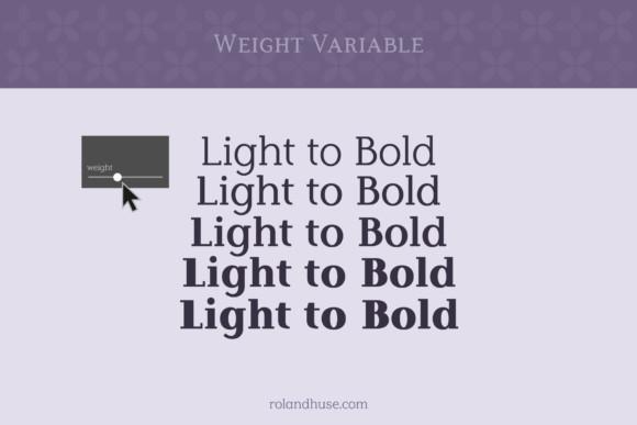 Lilac Block Font