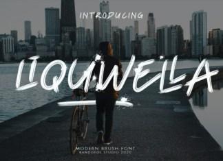 Liquwella Font