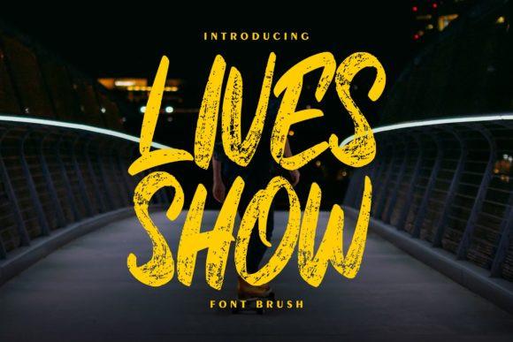 Lives Show Font