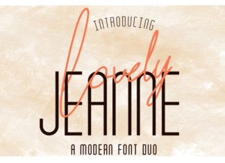 Lovely Jeanne Font Duo