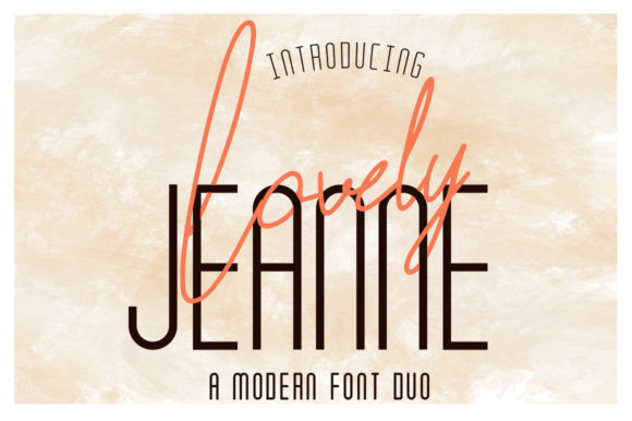 Lovely Jeanne Font Duo