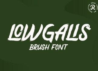 Lowgalis Font