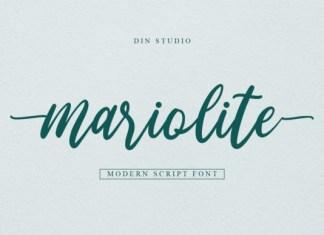 Mariolite Font
