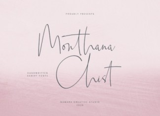 Monthana Chist Font