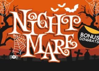 Night Mare Font