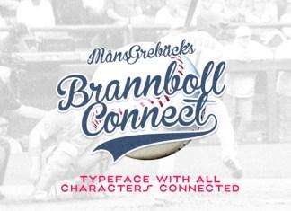 Brannboll Connect Font BRANBLFIRELSSST6435GFXTRA