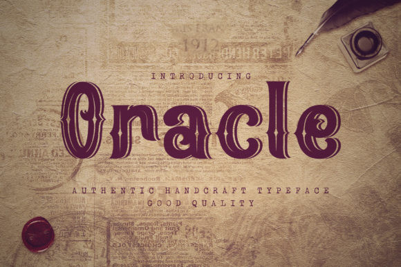 Oracle Font