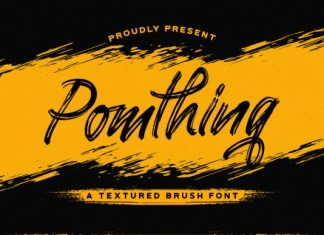 Pomthinq Font