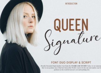 Queen Signature Font Duo
