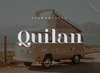 Quilan Font