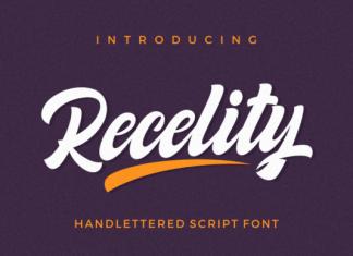 Recelity Font