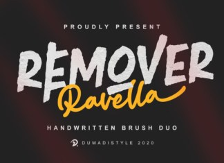 Remover Ravella Font Duo