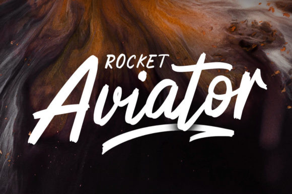 Rocket Aviator Font