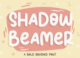 Shadow Beamer Font