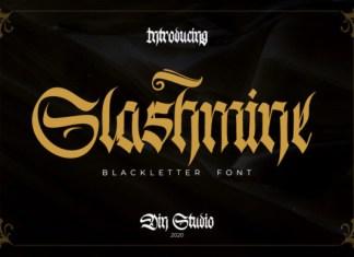Slashmine Font