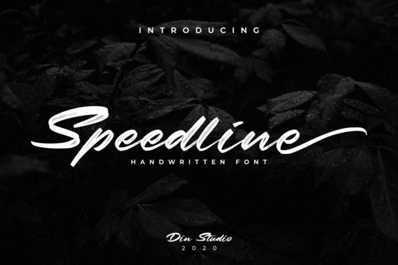 Speedline Font