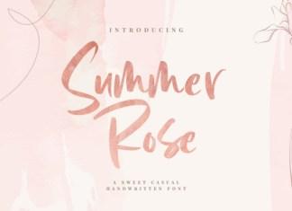 Summer Rose Font